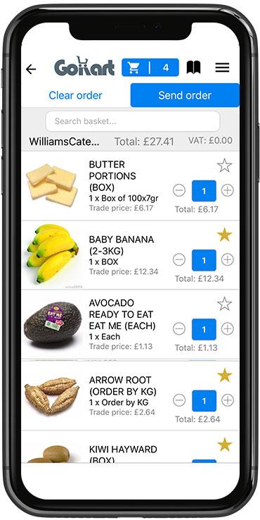 Find Food Suppliers | Restaurant & Cafe Suppliers | GoKart App